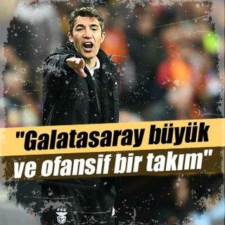 Galatasaray büyük ve ofansif bir takım