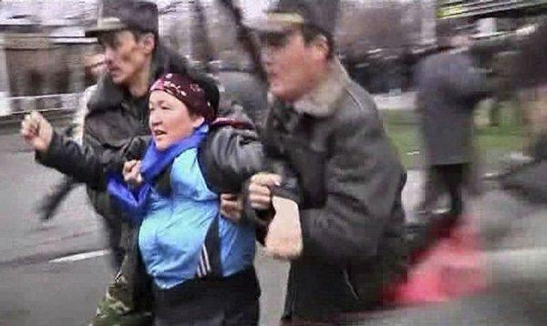 Kırgızistan karıştı...