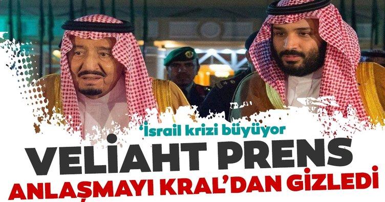 Suudi Kral ve Veliaht Prens Selman arasında İsrail anlaşmazlığı