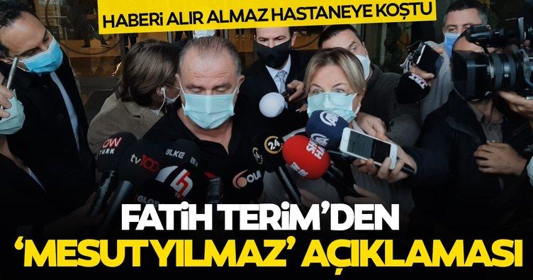Fatih Terim'den Mesut Yılmaz açıklaması: İyi bir dost, iyi bir Galatasaraylı idi