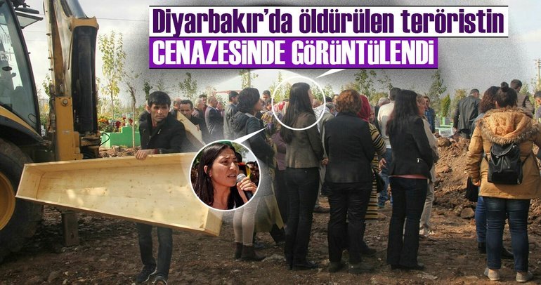 HDP'li vekil PKK'lı teröristin cenazesine katıldı