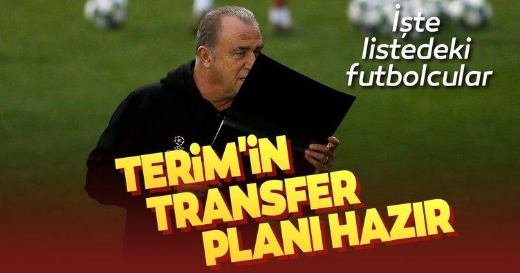 Galatasaray'da Fatih Terim'in transfer planı hazır