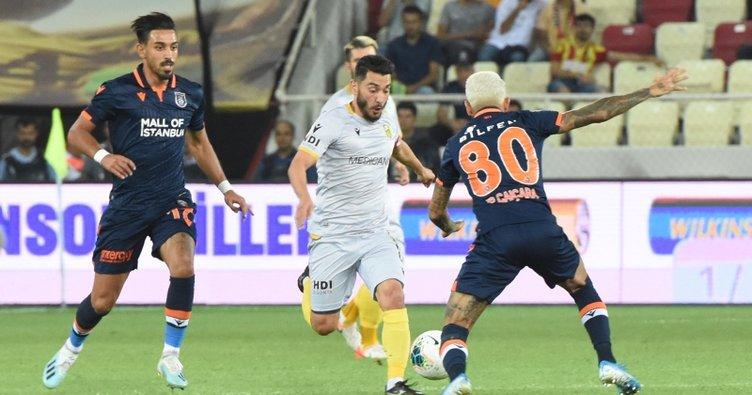 Yeni Malatyaspor siftahı 3 puanla yaptı
