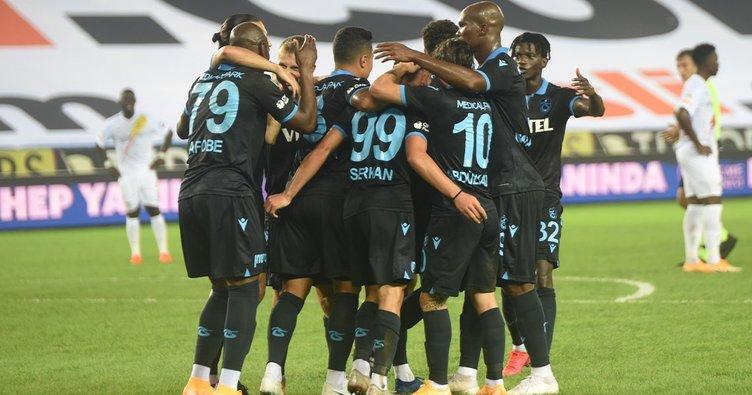 Fırtına ilk yarıda esti! Trabzonspor 3-1 Yeni Malatyaspor   MAÇ SONUCU