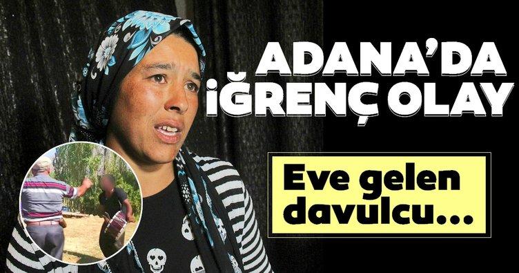 Adana'da mide bulandıran bir olay! İdam istedi...