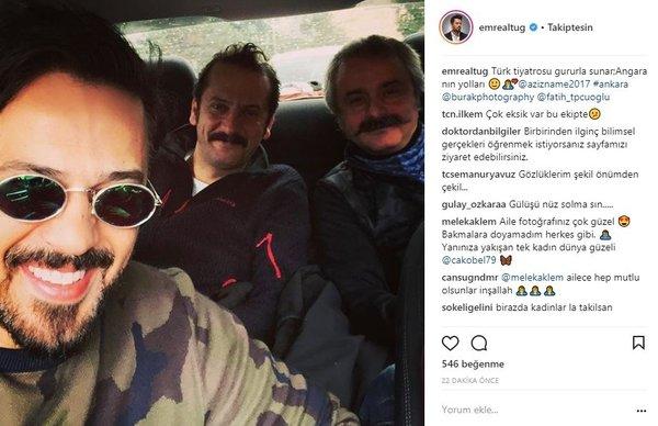 Ünlü isimlerin Instagram paylaşımları (03.03.2018)