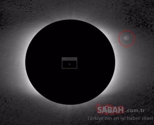 NASA tespit etti ama bu sefer tüm dünyadan gizledi! Güneş'teki görüntü tüyler ürpertti