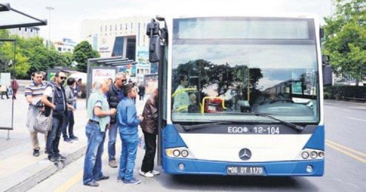 Bayram boyunca otobüsler bedava