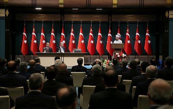 Cumhurbaşkanı Erdoğan il müftülerini kabul etti