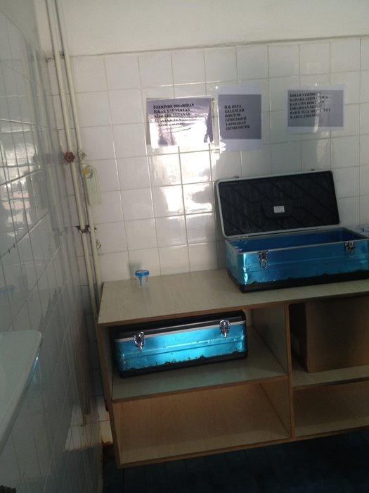 AMATEM'de idrar skandalı