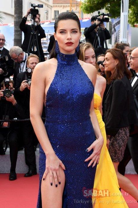 Adriana Lima sarışın oldu sosyal medya yıkıldı! Güzel model Adriana Lima sarı saçlı haliyle o isme benzetildi...