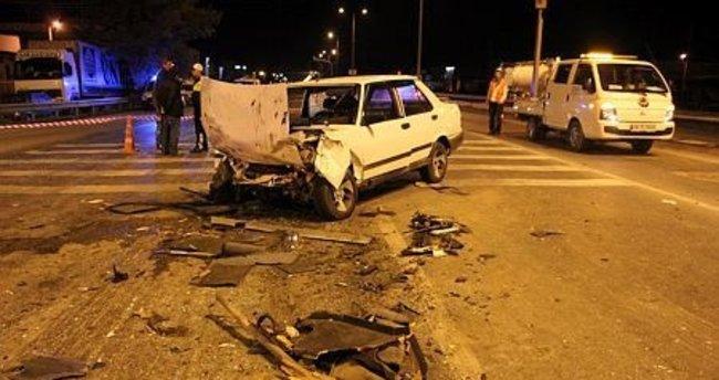 Sakarya'da zincirleme kaza