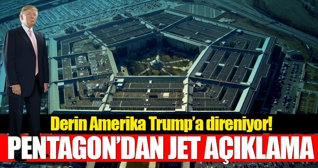 Pentagon sözcüsünden Trump'a şaşırtan mesaj