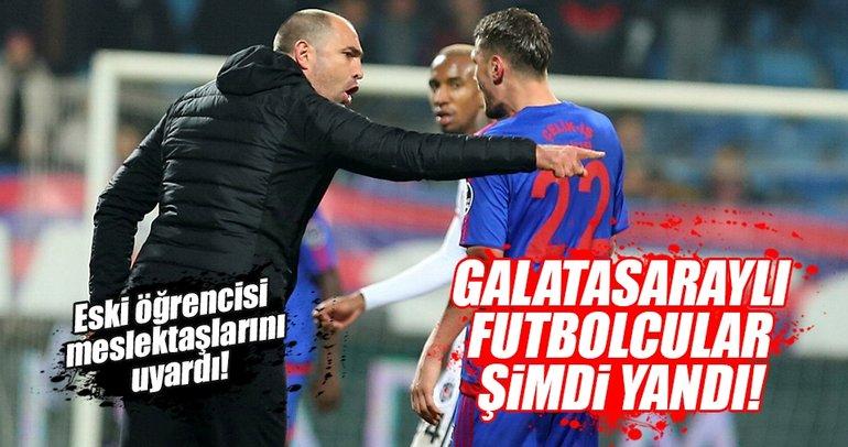 Tudor'un eski öğrencisi Galatasaraylı futbolcuları uyardı