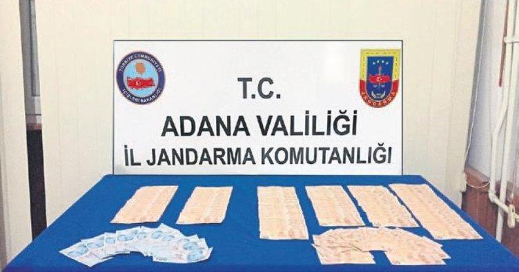 Adana jandarmasından kalpazanlara ağır darbe