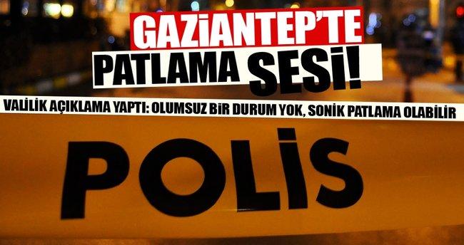 Gaziantep'te patlama iddiası