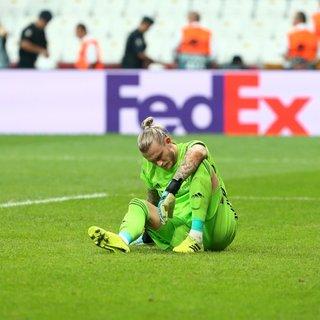 Beşiktaş tribünlerinden Loris Karius'a tepki