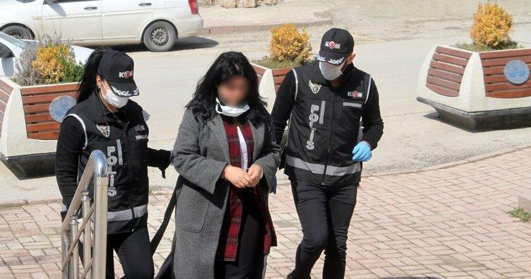 Elazığ'da sahte kadın hakim yakalandı, adliyeye sevk edildi