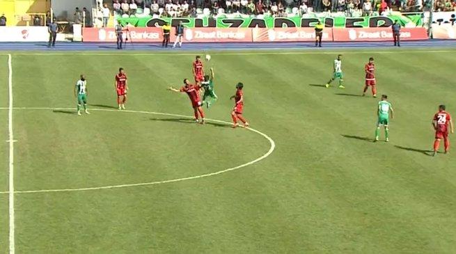 Yeni Amasyaspor tek golle turladı