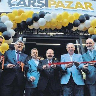 İstanbul'un yeni çarşısı açıldı