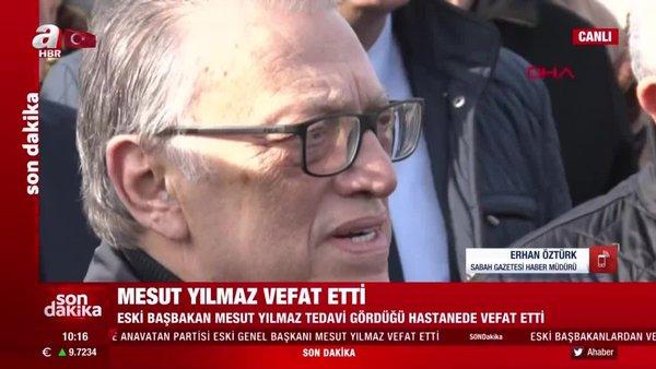 Sabah Gazetesi Haber Müdürü Erhan Öztürk: