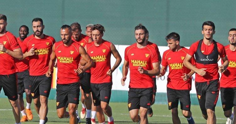 Galatasaray maçı öncesi Göztepe'de kaleci krizi