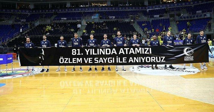 Fenerbahçe Bekolu oyuncu Kostas Sloukas'tan pankart açıklaması