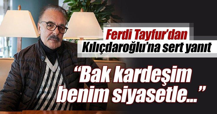 Ferdi Tayfur: Cumhurbaşkanı'nın gülümsemesi yeter bize...