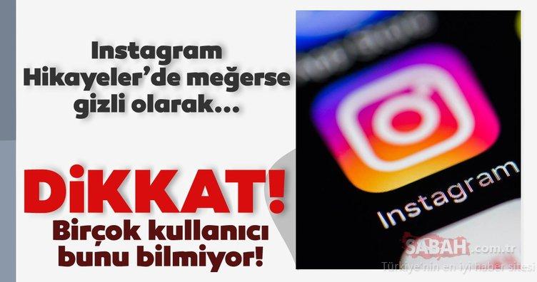 Instagram kullanıcıları dikkat! Çoğu kişi bunu bilmiyor! Meğerse Instagram Hikayeler'de gizli etiketleme yaparak...