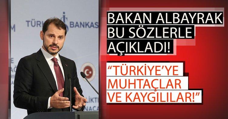 Bakan Berat Albayrak: Türkiye'nin Akdeniz'de gaz bulmasından korkuyorlar