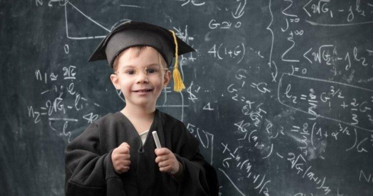 Yükseköğretimde 98 dahi çocuk var