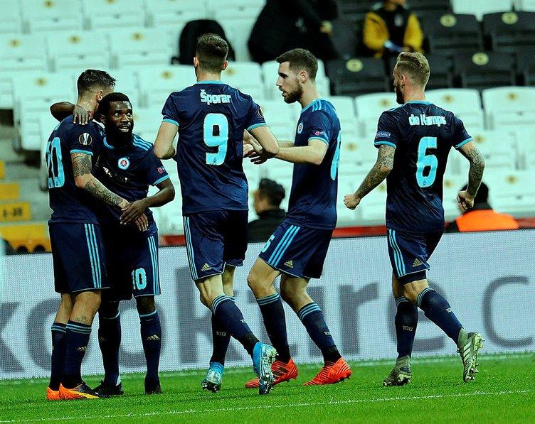 Fatih Doğan Beşiktaş - Slovan Bratislava maçını değerlendirdi