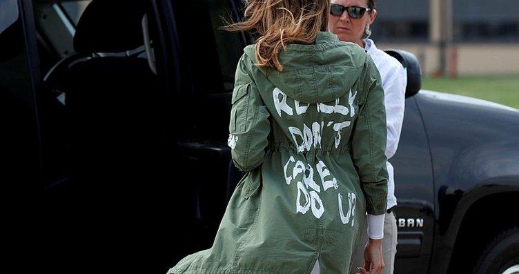 Melania Trump'ın göçmen çocukları ziyareti kriz...