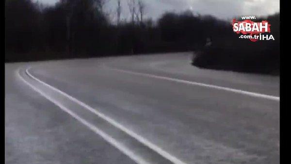 Drift attığı görüntüleri paylaştı, polis ekipleri harekete geçti | Video