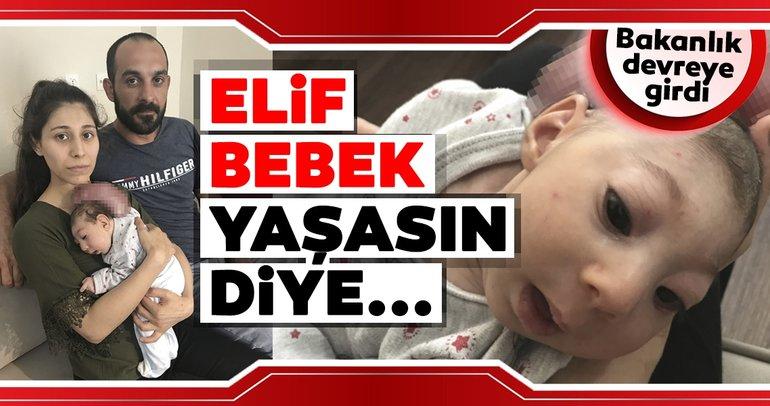 Elif bebeğe yardım eli uzandı