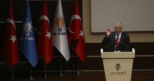 Yıldırım, AK Parti milletvekilleriyle görüştü
