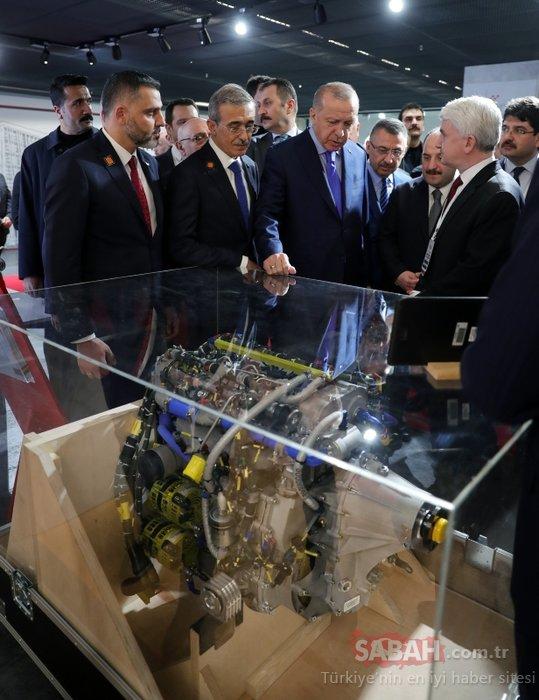 Başkan Erdoğan Teknopark İstanbul 2. Etap Açılışında incelemelerde bulundu