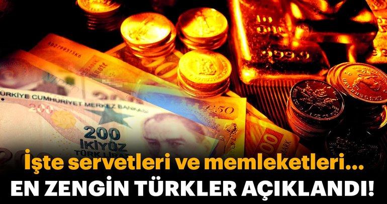 Türkiye'nin en zenginleri aslen nereli?
