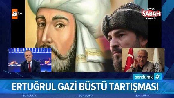 Ordu Büyükşehir Belediye Başkanı Hilmi Güler'den 'Ertuğrul Gazi Büstü - Engin Altan Düzyatan' açıklaması | Video