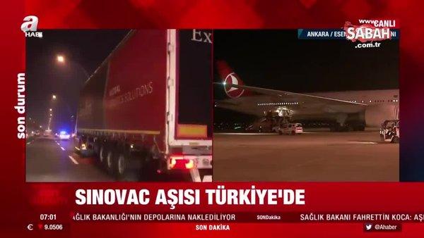 Son dakika! Koronavirüs aşısı Türkiye'de! İşte o anlar   Video