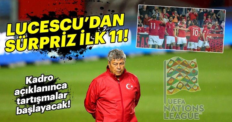 Türkiye - Rusya muhtemel 11'ler