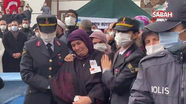 Şehit Piyade Er Selim Gedik, dualarla son yolculuğuna uğurlandı | Video