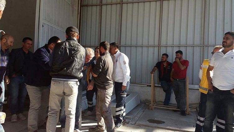 Vinç faciası: 1 işçi öldü