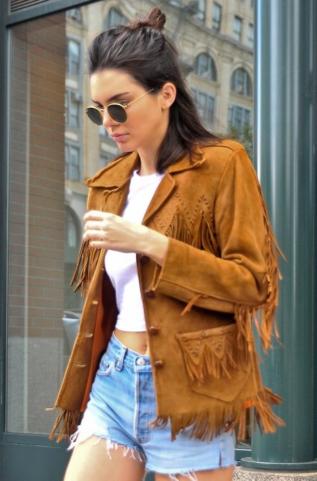 Kendall Jenner'ın sokak modası
