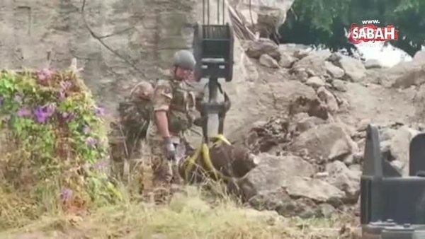 İtalya'da 2. Dünya Savaşı'ndan kalma bomba bulundu   Video