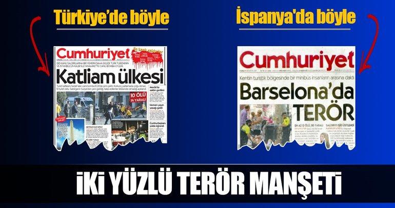 Barcelona saldırısı maskeleri düşürdü