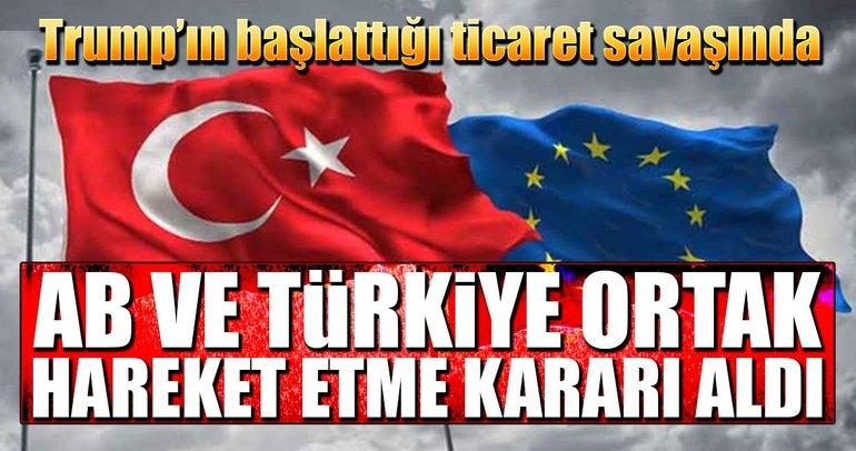 Çelik kararında AB-Türkiye ittifakı
