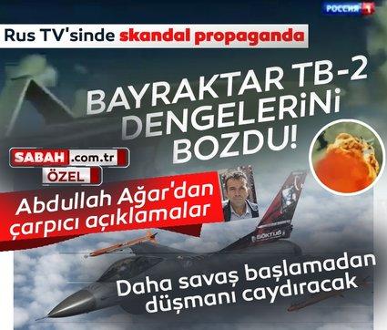 Rus televizyonunda skandal propaganda: Bayraktar TB-2 dengelerini bozdu