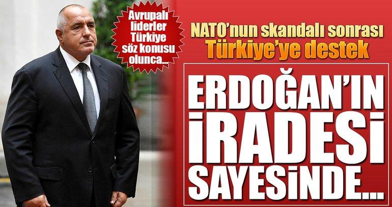 Bulgaristan Başbakanı Borisov'dan Türkiye'ye destek