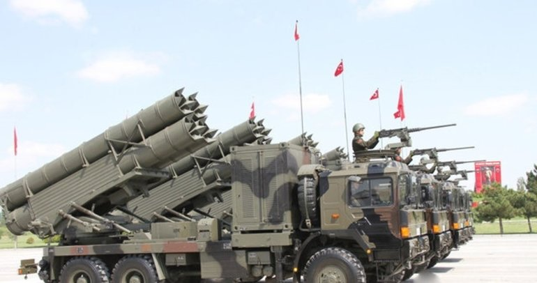 Türkiye'nin gururu yerli silahları